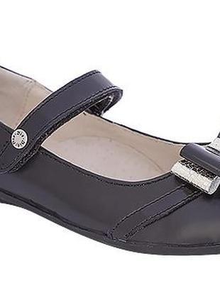 Туфли 36р-23.6 смк ожа lapsi черные