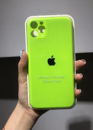 Чехол для iphone 11 pro max silicone case full cover чехол для айфона