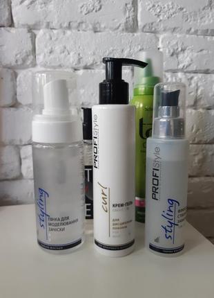 Пенка/мусс/флюид/гель для укладки волос