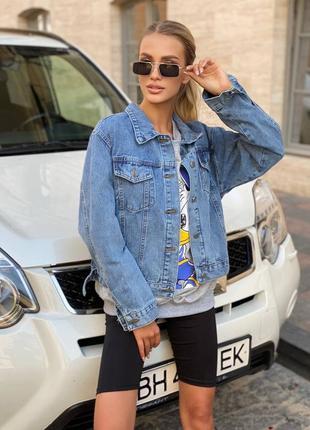 'джинсовка синяя