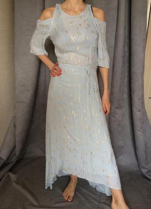 Платье  из натуральной ткани  в романтичном стиле