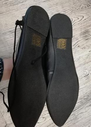 Туфли балетки с острым носком nly shoes3 фото
