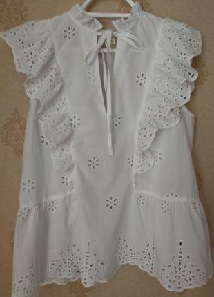 Милая блузочка в стиле бохо