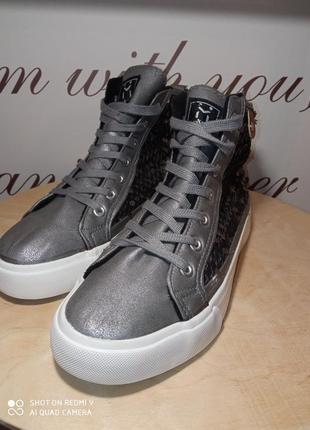 Ботинки хайтопы u&me