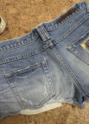 Короткик джинсовые шорты