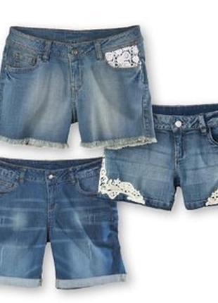 Джинсовые шорты esmara