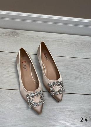 Туфли балетки лоферы zara mango босоніжки туфлі
