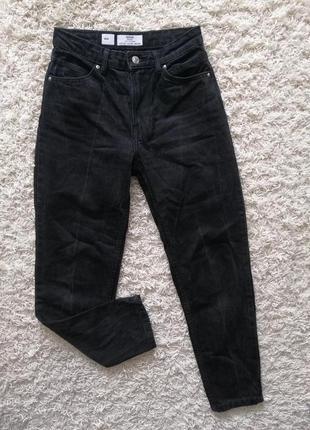 Бомба! стильные женские джинсы момы bershka 34 (24) в прекрасном состоянии
