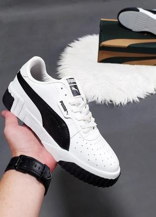 🔥женские кроссовки puma cali белые🔥