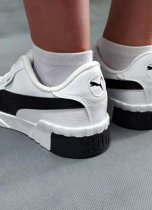 🔥женские кроссовки puma cali белые🔥6 фото