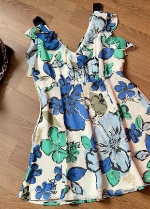 Красивый летний сарафан платье asos missguided