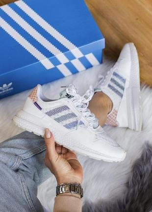 ‼️sale‼️ женские кроссовки adidas zx 500 rm white
