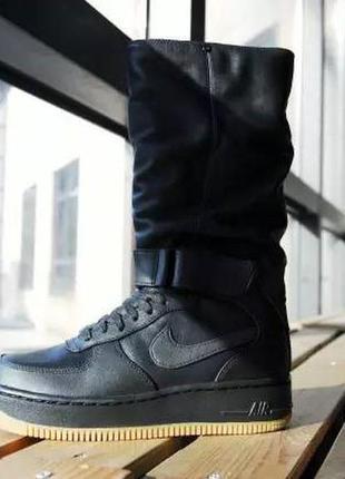 buy popular a3058 16f17 Оригинал женские сапоги/высокие кроссовки/ботинки nike air ...