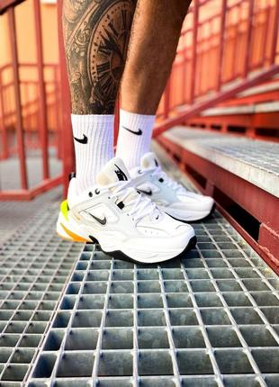 Мужские кроссовки nike m2k tekno pure platinum,кроссовки найк м2к текно платиновый с белым шнуровка