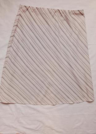 Чудесная юбка из льна и вискозы mark&spenser в идеальном состоянии