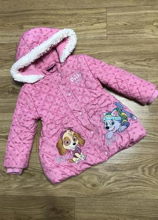 Куртка курточка демисезонная осень весна на девочку 3-4 года