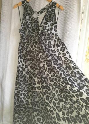 Женское летнее платье в пол. длинный хлопковый летний пляжный сарафан. 100% хлопок
