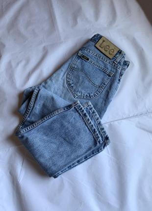 Джинсы lee, джинсы lee винтаж, джинсы на высокой посадке