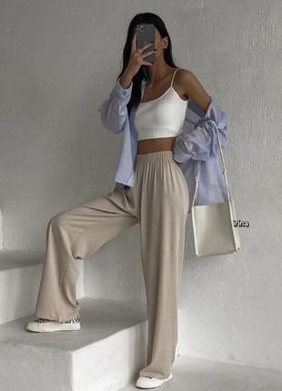 Крутые брюки штаны широкие
