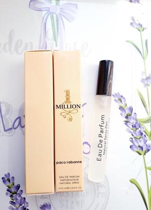 1 million мужской пробник- спрей 10мл, духи, парфюм, туалетная вода, парфуми