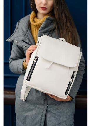 Базовий білий рюкзак