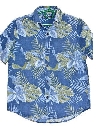 Фирменная рубашка next на мальчика