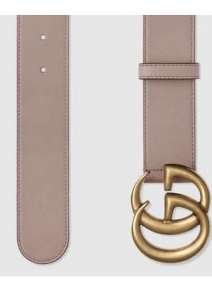 Оригинальный кожаный пояс ремень gucci