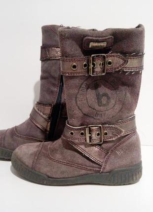 Кожаные сапоги / ботинки bama