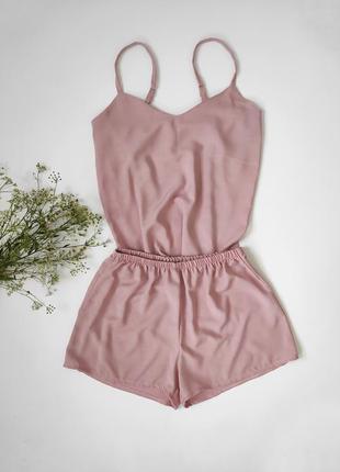 Летняя пижама из 100% вискозы розовая