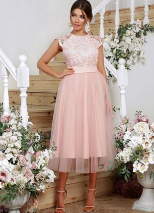 Женственное нарядное красивое платье 👗 качество 💥