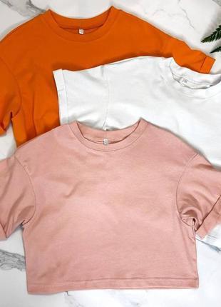 Топ укороченная футболка