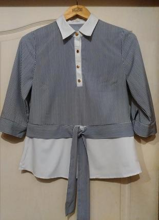 Блуза с рукавом 3/4 base