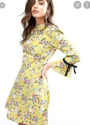 Шикарное цветочное платье сукня плаття