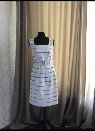 Симпатичное платье из хлопка m&s