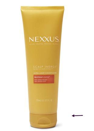 Nexxus scalp inergy ultra-light conditioner for volume невесомый кондиционер 50 мл