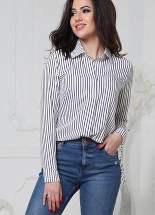 Женская блузка в полоску