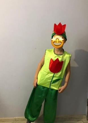 Карнавальний костюм тюльпан