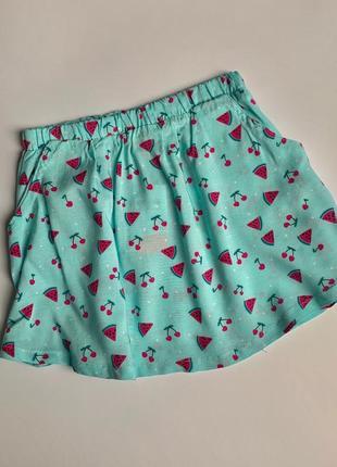 Вискозная юбка