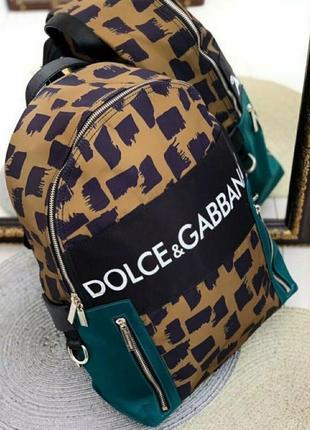 Рюкзак модный в стиле dolce gabbana☘️🔝☘️