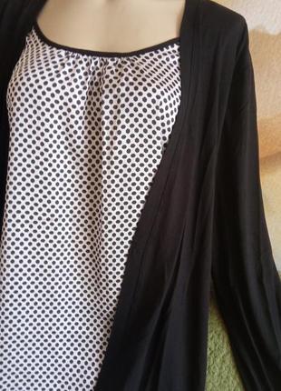 2в1кардиган-блуза 50р
