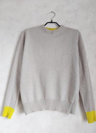 Базовый свитер джемпер реглан