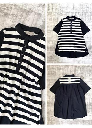 Хлопковая коттоновая рубашеа блуза футболка хлопок/ коттон