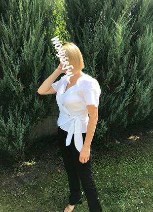 Блуза h&m linen 👌🌿льон💯
