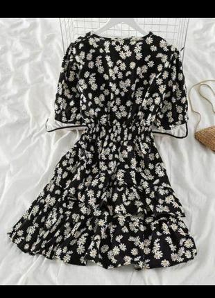 Легка літня сукня /платье в ромашки