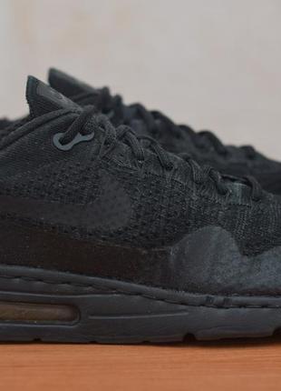 Черные мужские кроссовки с баллонами nike air max, 44 размер. оригинал