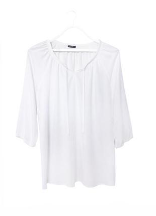 Стильная свободная блуза из вискозы laura torelli