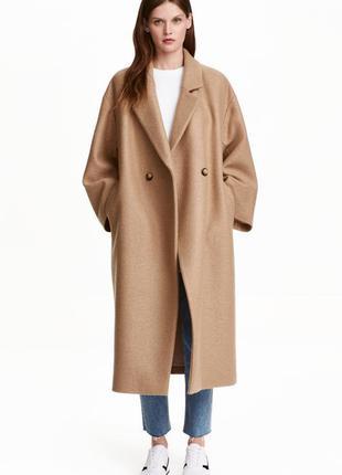 Шикарное пальто шерсть asos.