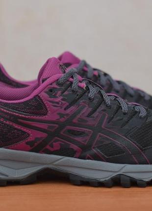 Черные женские беговые кроссовки asics gel-sonoma 3, 39.5 размер. оригинал