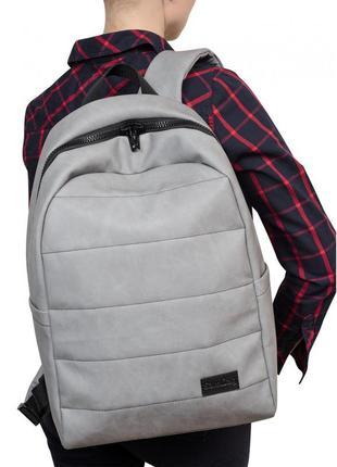 Жіночий рюкзак нубук