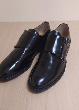 Кожаные мужские туфли италия классика